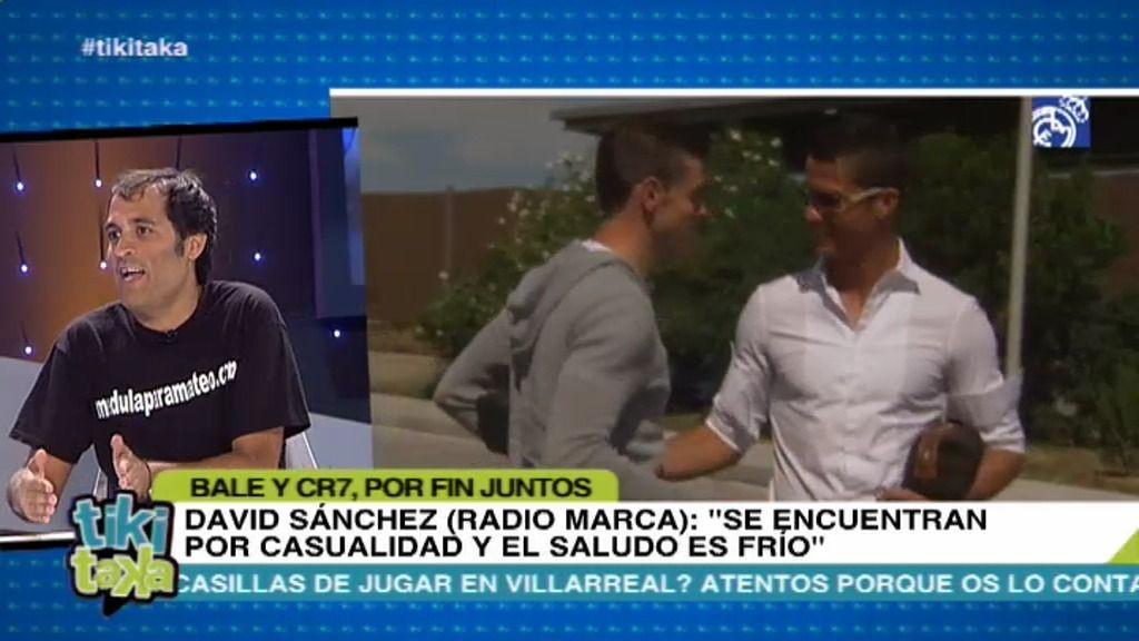 David Sánchez y Cuéllar se pican por el saludo entre Bale y Cristiano