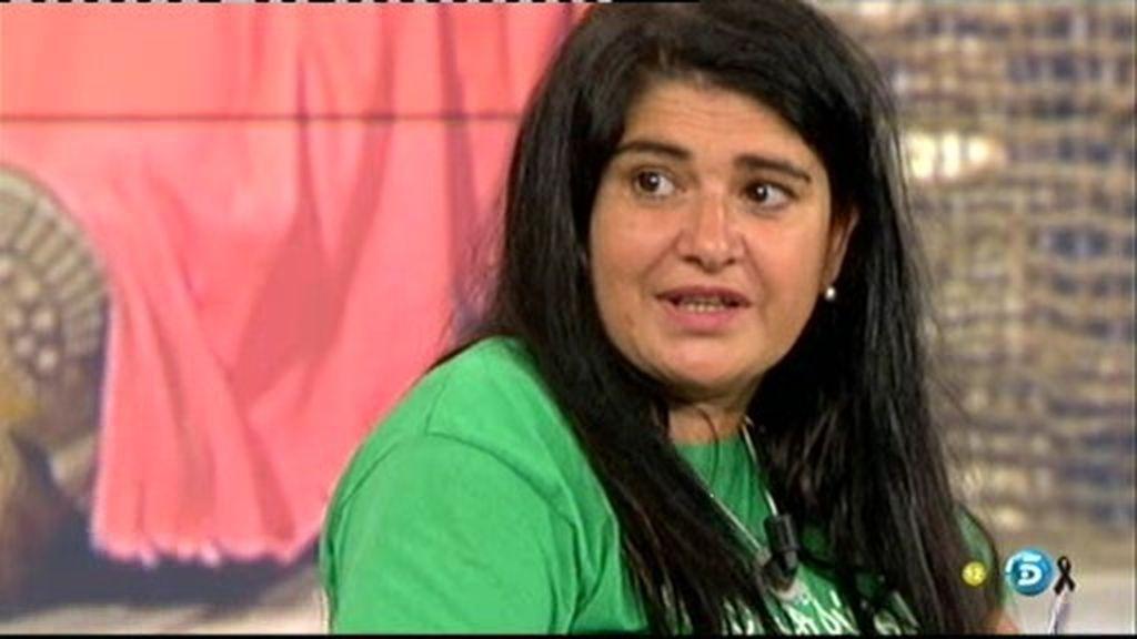 """Lucía,en plató:""""Estoy psicológicamente bien"""""""