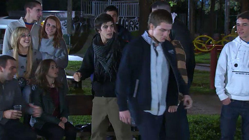 Jacobo se pelea con Diego