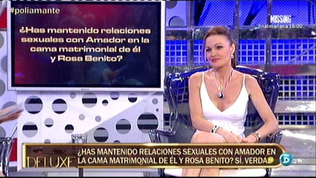 Raquel Moragues no ha congelado ningún fluido corporal de Amador Mohedano