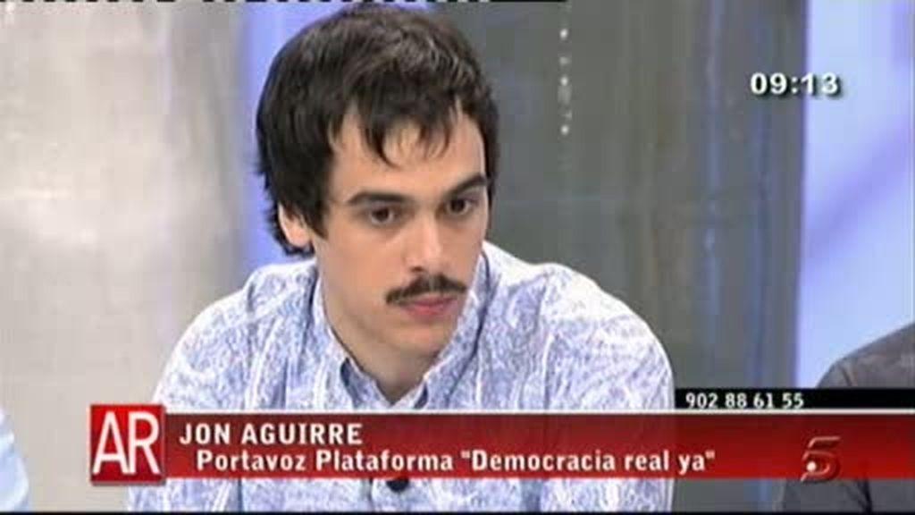 Portavoces Democracia Real ya