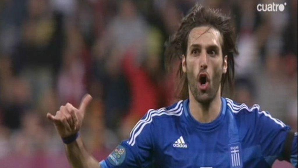 El gol de Samaras rescataba a Grecia