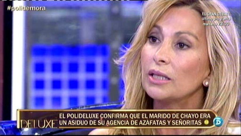 María de Mora miente cuando dice que aconsejó a Andrés que se casase con Chayo