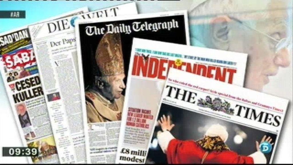El Papa, protagonista de la prensa internacional