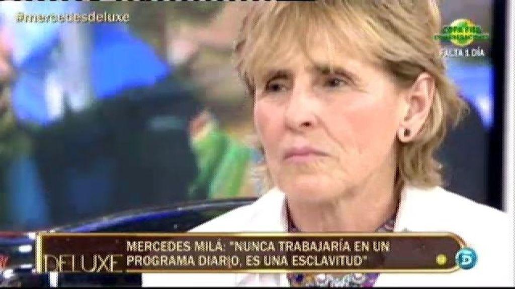 """Mercedes Milá: """"Me sigue gustando mucho Letizia Ortiz, es una gran mujer"""""""