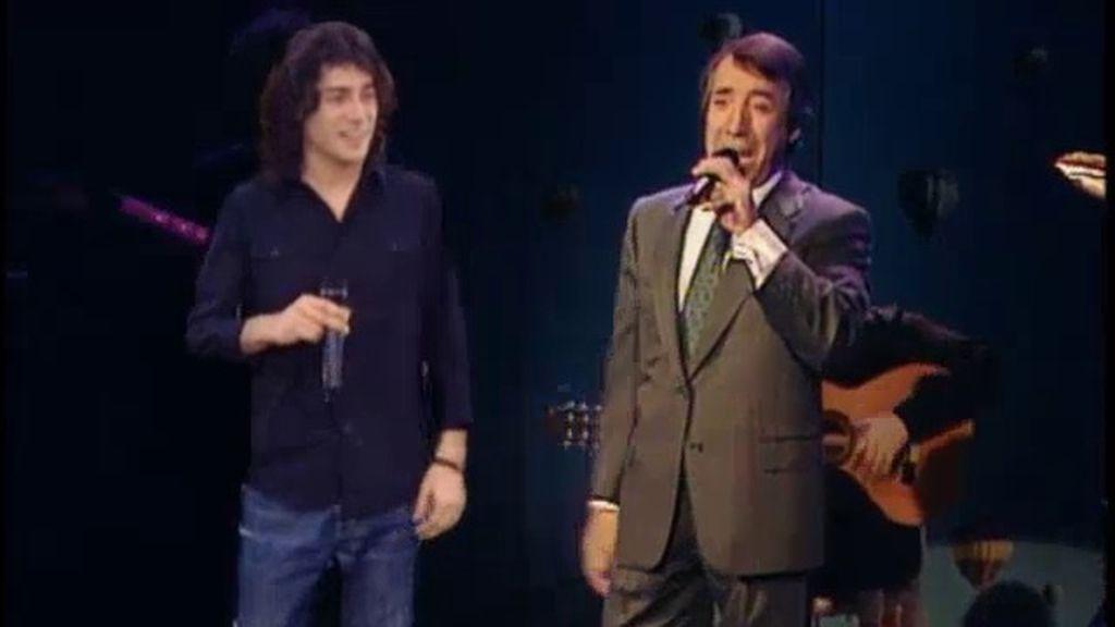 Javi Cantero cumple su sueño de cantar junto a su padre