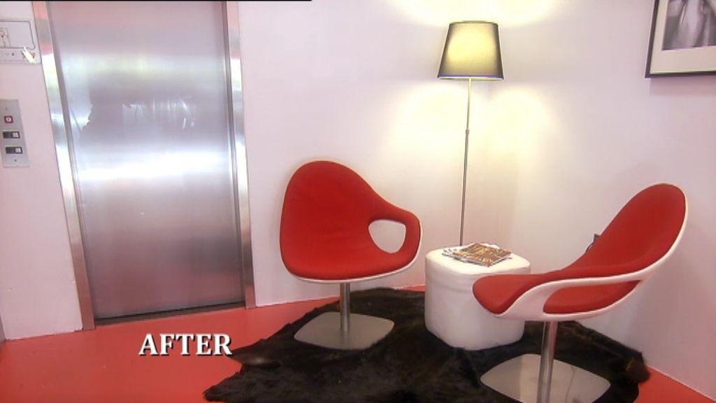 El antes y el depués del lujoso Hotel Keating