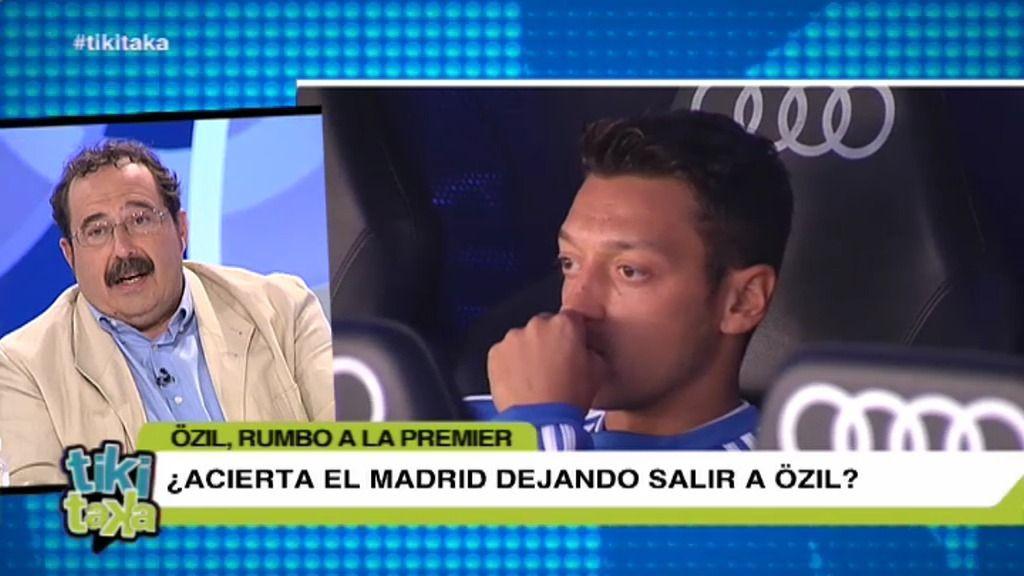 ¿Acierta el Madrid dejando salir a Özil?
