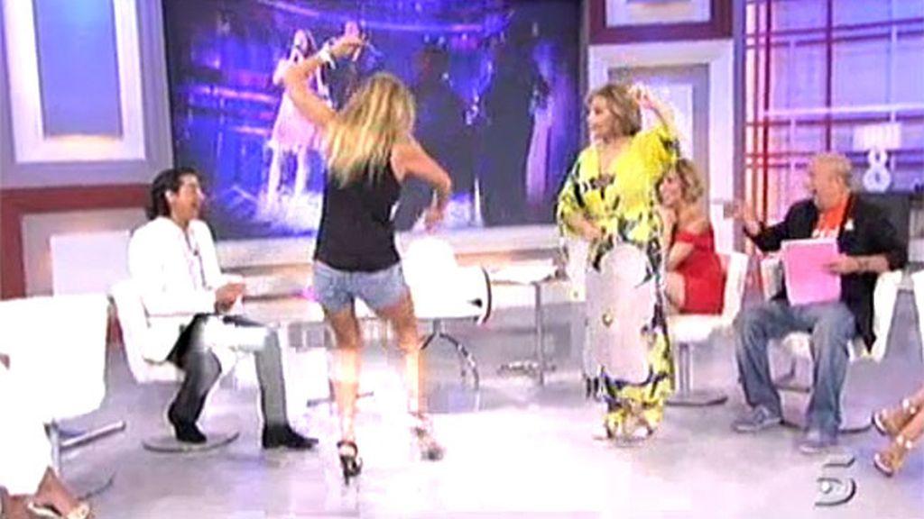 ¡A bailar, a bailar, a bailar'