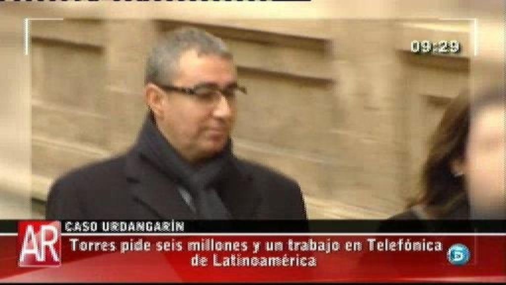 Torres pide seis millones y un trabajo en Telefónica de Latinoamérica, según El Mundo