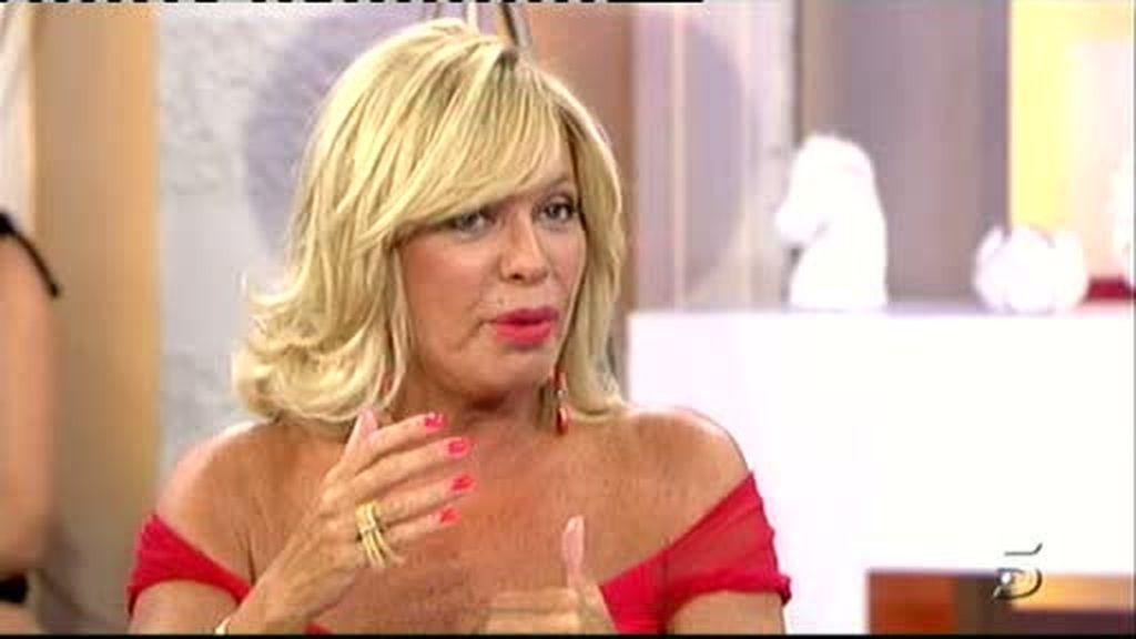 Bárbara imita a Lola Flores