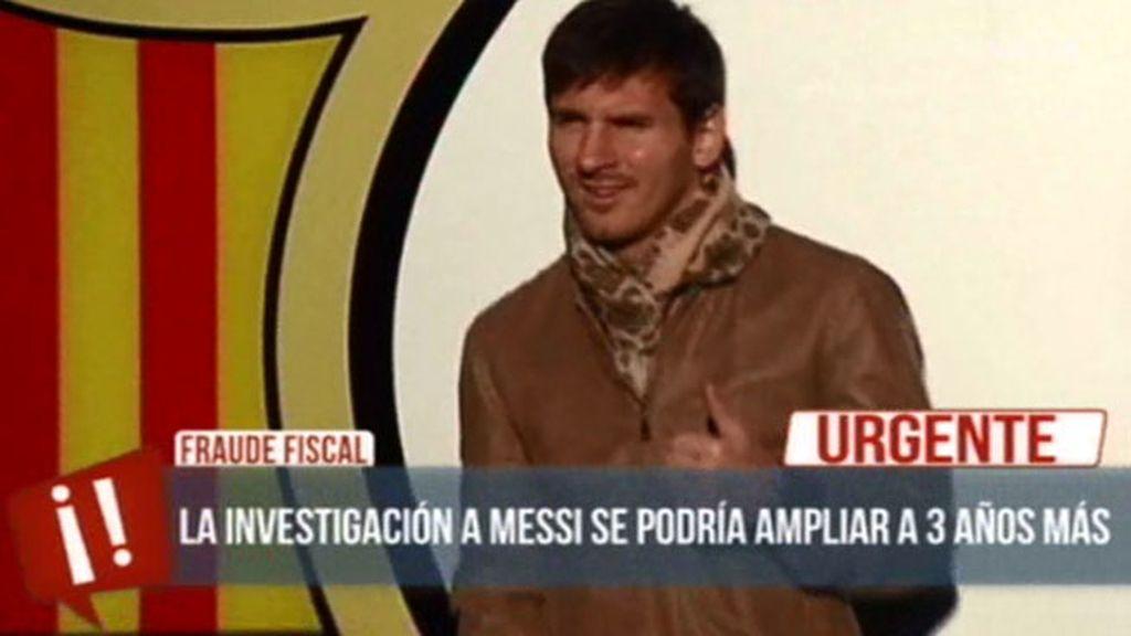 La investigación a Leo Messi se podría ampliar a tres años más