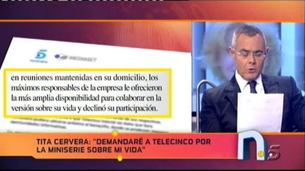 Comunicado oficial de Telecinco