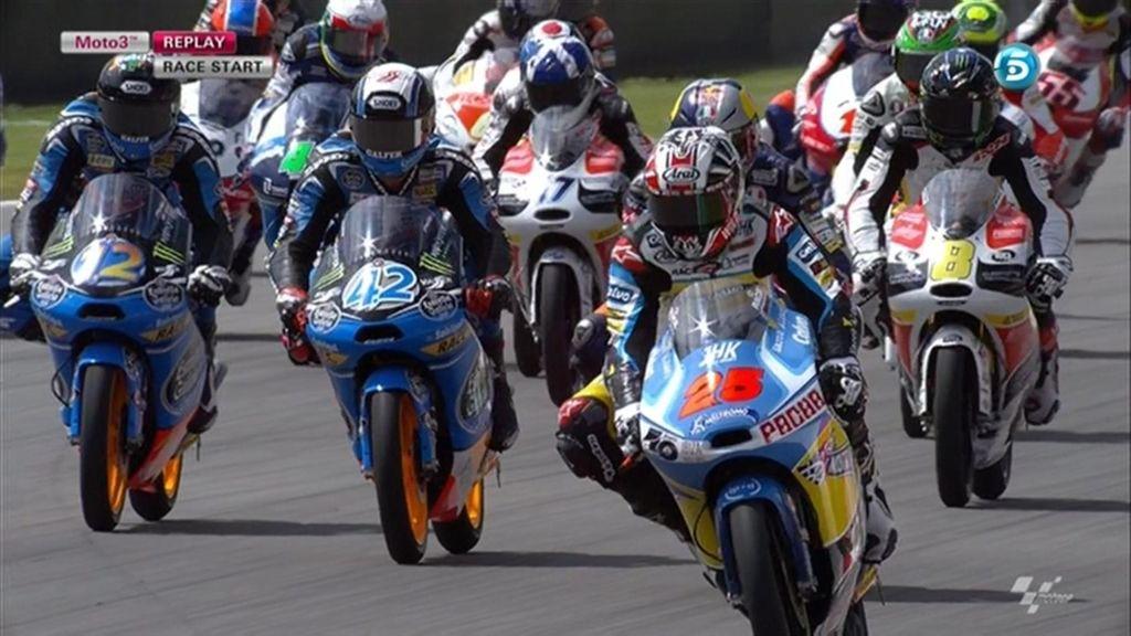 GP de Italia, la carrera de Moto3, a la carta