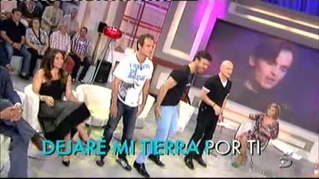 Iván, Gonzalo y Pedro, el Karaoke