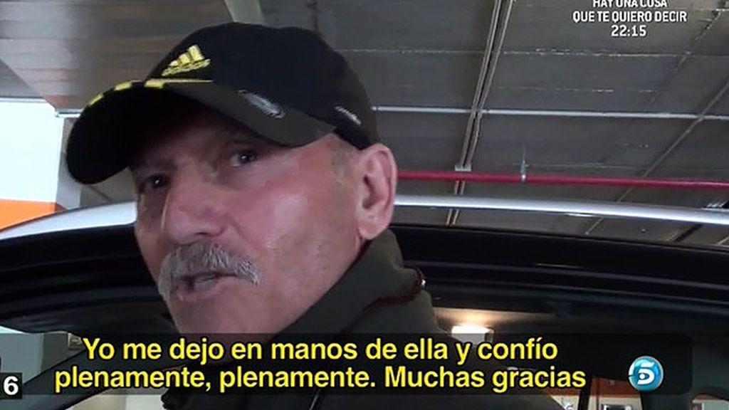 """Jesús Carballo: """"La justicia es la que tiene que actuar en este caso"""""""