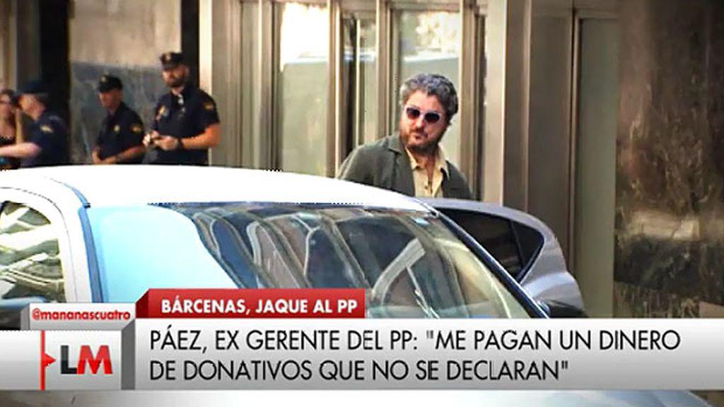 """Páez: """"Cobré sin factura dinero del PP"""""""