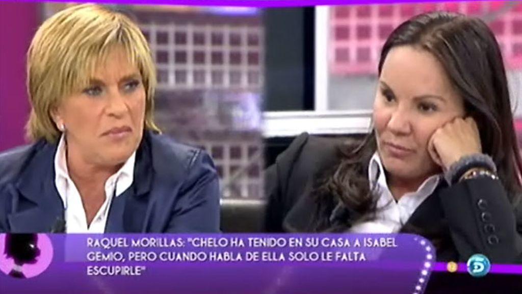 "Raquel M., a Chelo: ""Me has traicionado"""