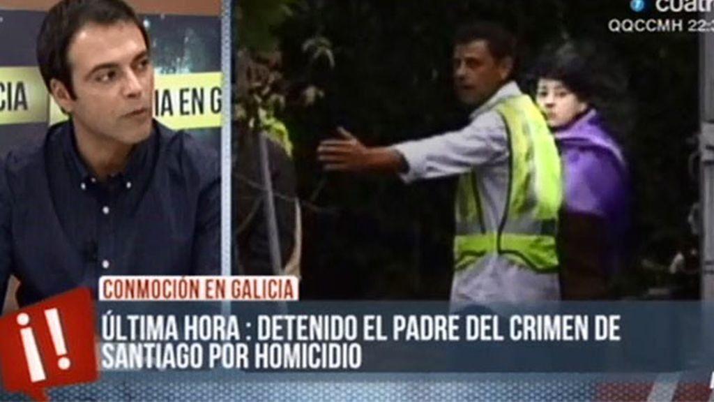 """Ángel Moya: """"Han detenido al padre de Asunta por pruebas anteriores al registro"""""""