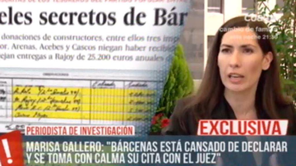 Las acusaciones particulares se plantea la entrada en prisión de Bárcenas