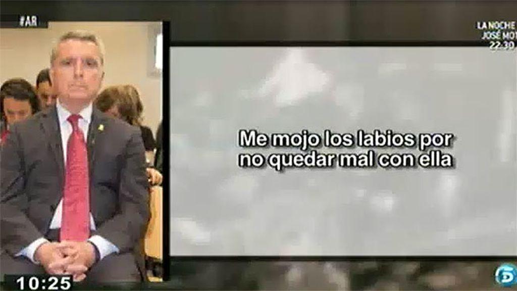 """Ortega Cano: """"Me mojé los labios por no quedar mal"""""""
