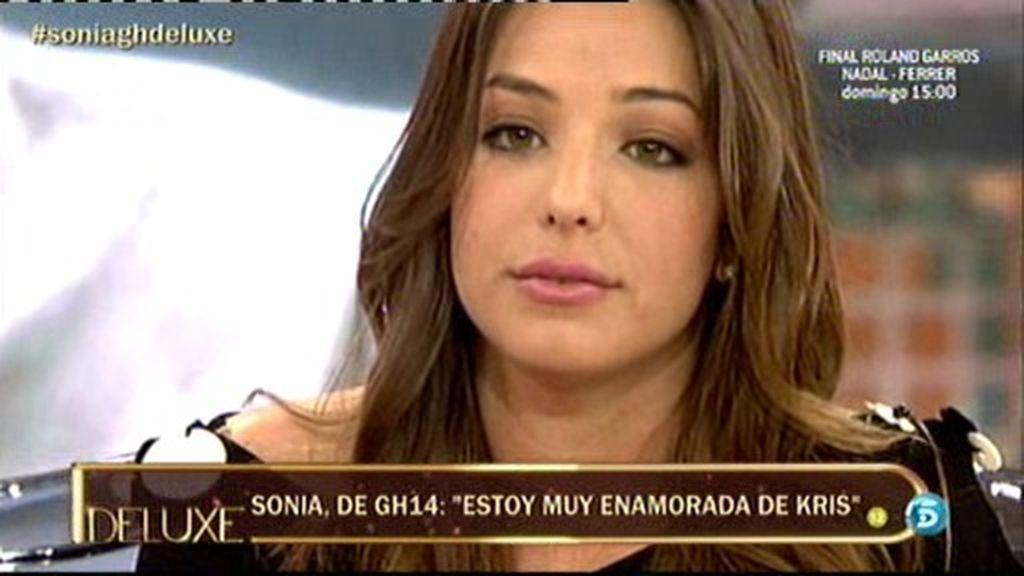 """Sonia: """"Estoy muy enamorada de Kris pero no me voy a venir a Madrid"""""""