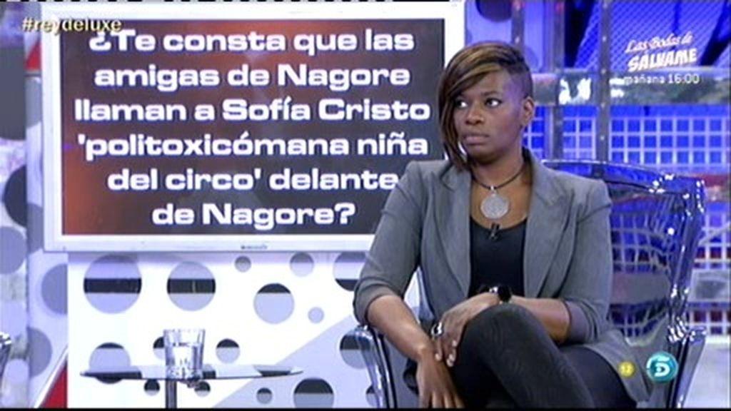 Nagore le contó que su ex novia era mejor amante que Sofía Cristo