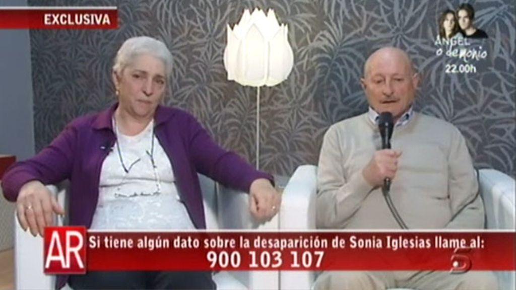 Los padres de Sonia Igleias