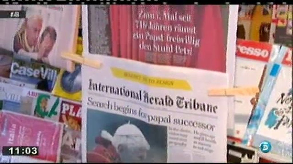 Los turistas, sorprendidos por la renuncia del Papa