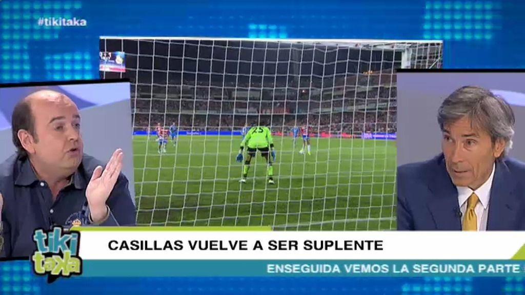 """Juanma Rodríguez: """"Diego López ha salvado al Real Madrid hoy"""""""