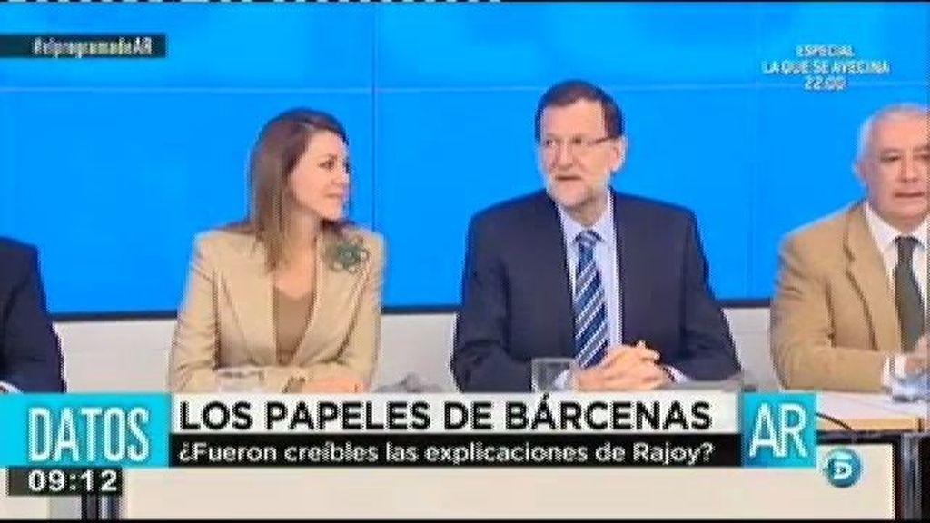 """Rajoy: """"Nunca he recibido ni he repartido dinero negro"""""""