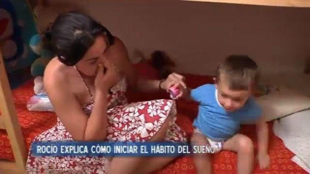 Alba y Rubén se duermen en su habitación