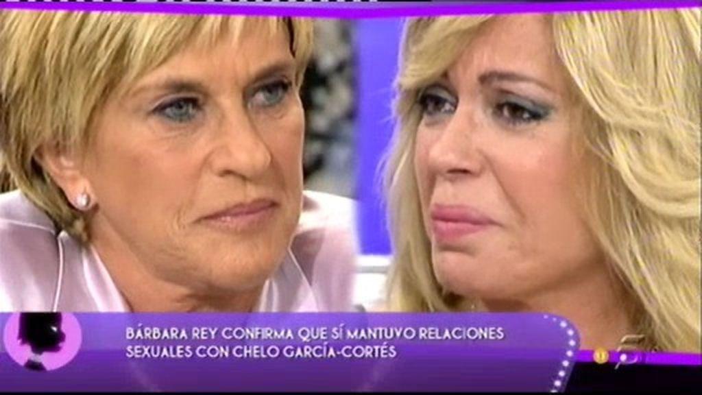 """Bárbara Rey: """"Chelo y yo tuvimos una noche de amor"""""""