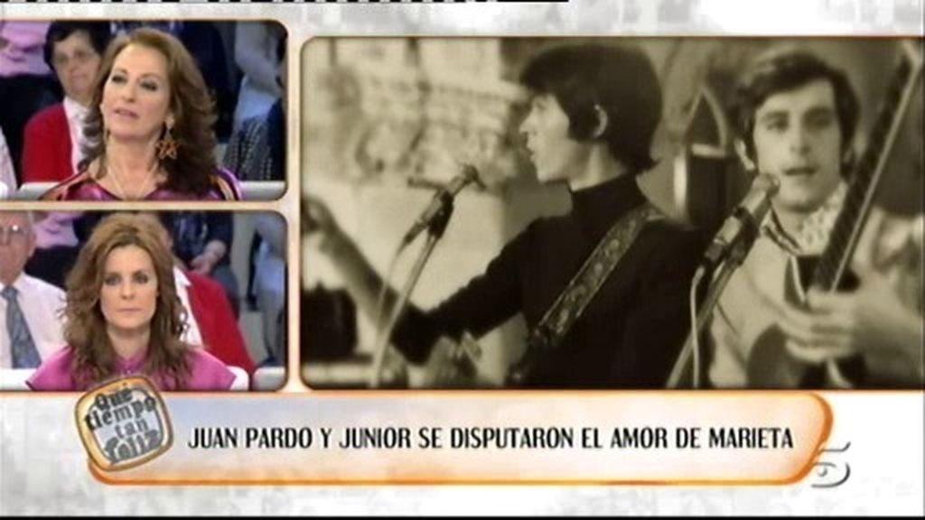 Juan Pardo y Junior de disputaron el amor de Marieta