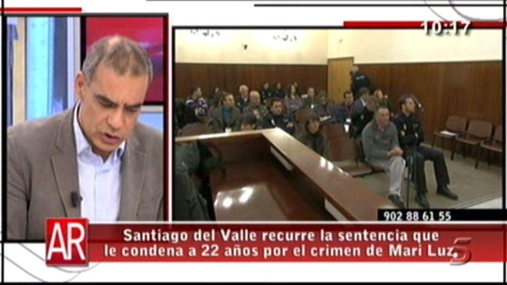 Santiago del Valle recurre