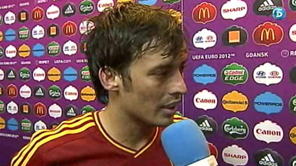 """Silva: """"He tenido la suerte de hacerlo y me da más tranquilidad"""""""