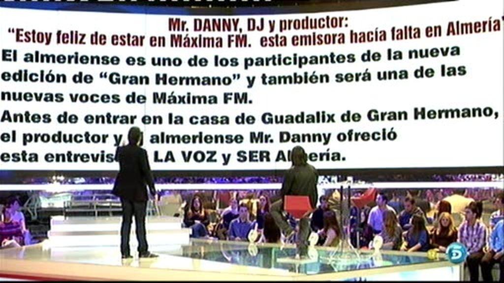 Danny reveló que entraría en GH