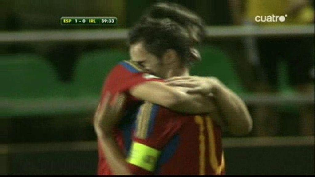 Sarabia hace el 2-0
