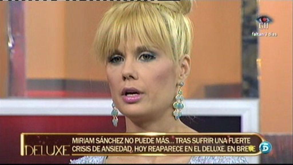 "Miriam: ""Rafa Mora es mentiroso compulsivo"""