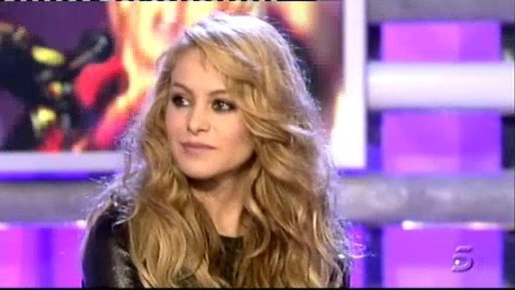 Paulina se emociona al recordar su actuación con Rocío Jurado