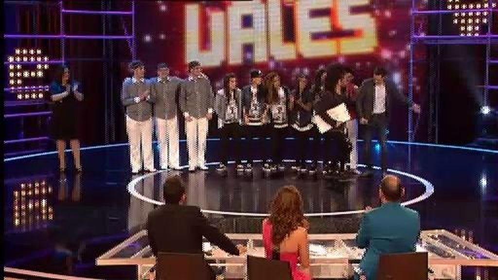 Los finalistas de la Gala 5