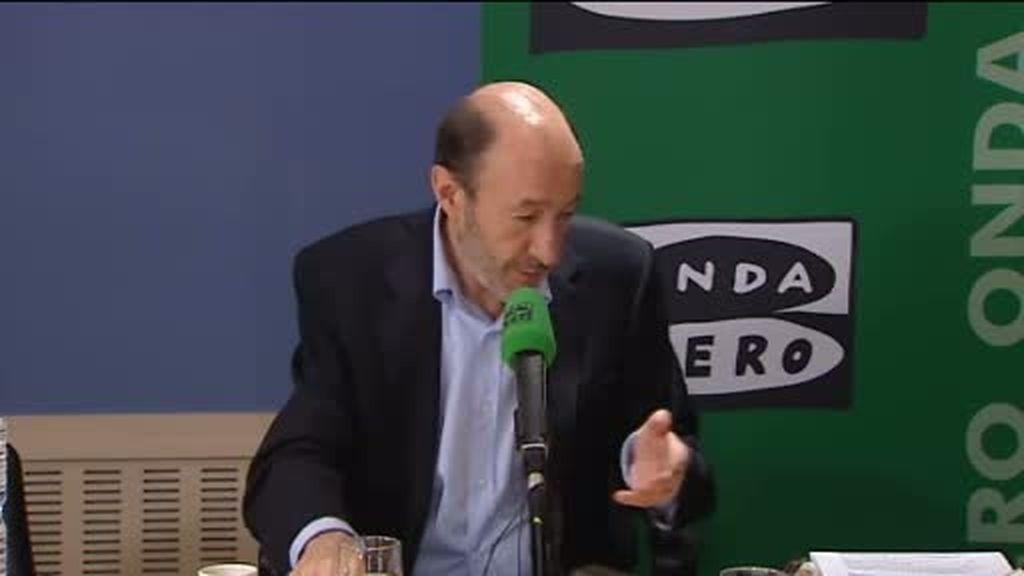 Rubalcaba al PSOE de Zamora