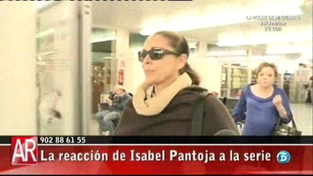 La reacción de Pantoja a la serie