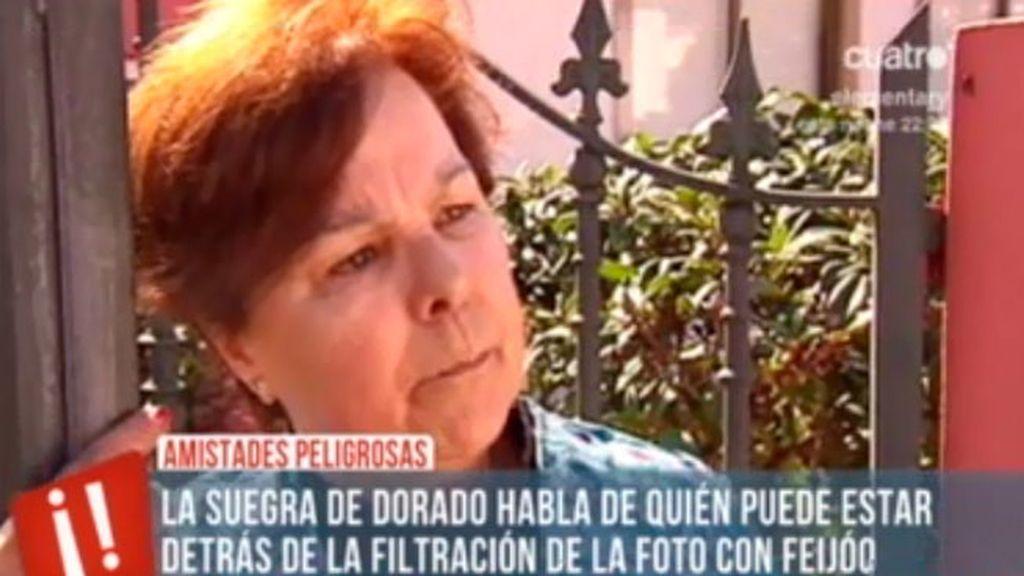 La suegra de Marcial Dorado confirma que les amenazaron para sacar las fotografías