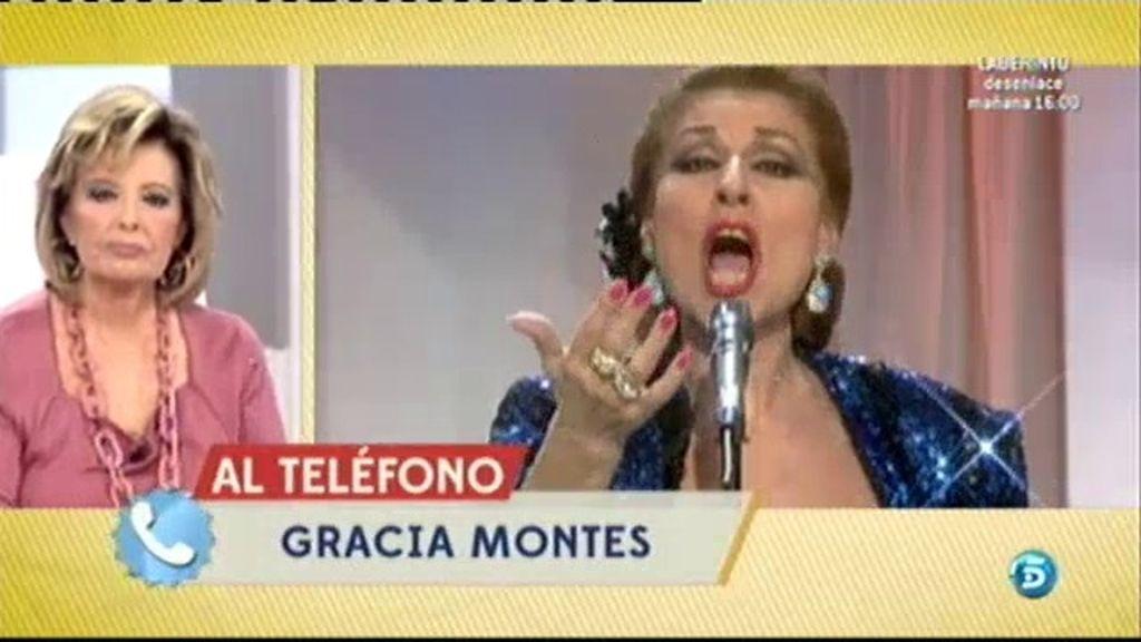 """Gracia Montes recuerda emocionada a Marifé: """"Era única en su estilo"""""""