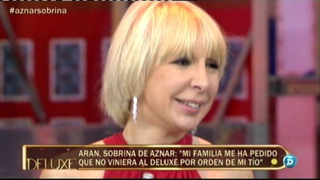 José María Aznar ha pedido a su sobrina que no fuese al Deluxe