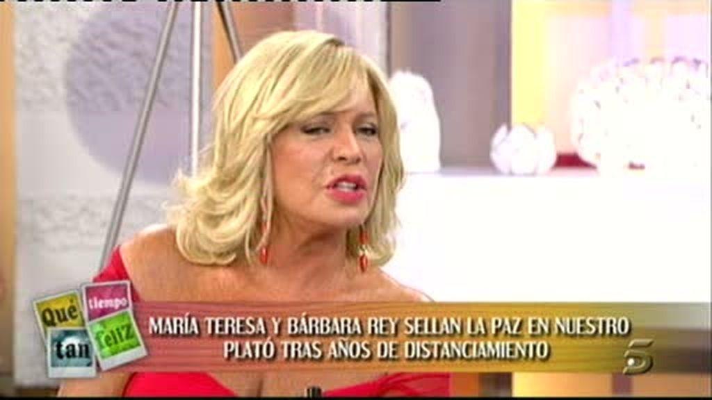 Bárbara y la Campos, enfrentadas