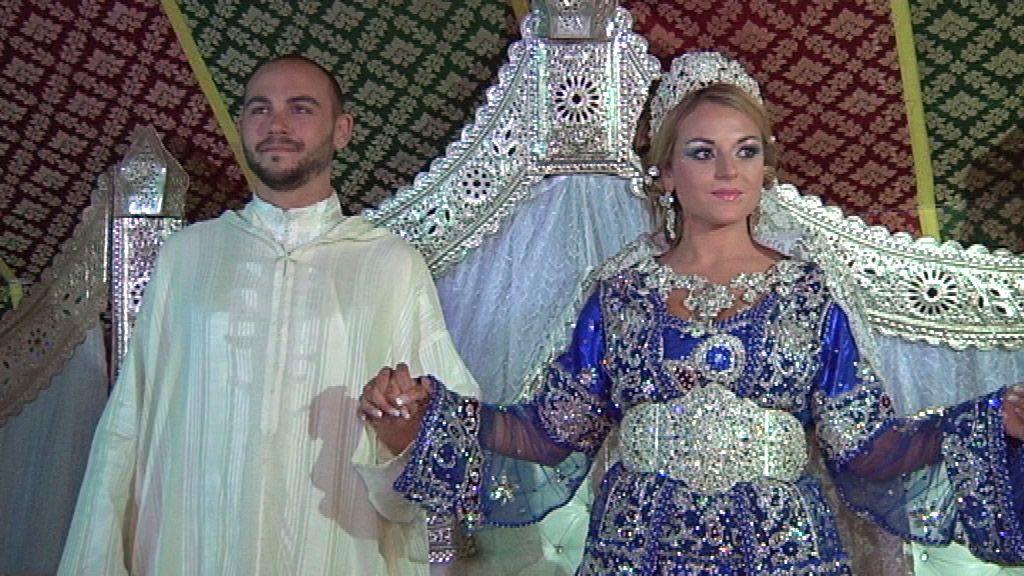 la novia es la gran estrella de la boda marroquí!