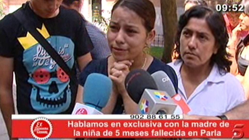 Habla la madre del bebé asesinado