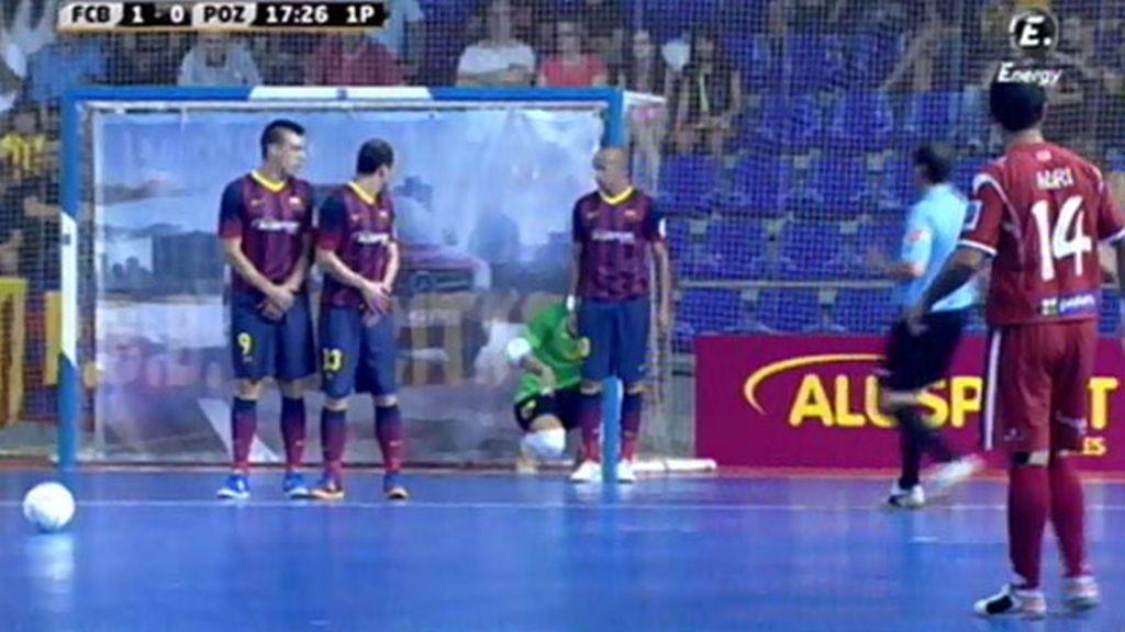 Gol de Adri (Barcelona 1-1 ElPozo)